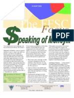 FFSC Aug 09 Newsletter