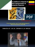 Hechos Que Justifican La Adopcion de Las NIIF, Co, Abril 2008