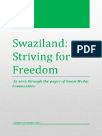Swaziland Striving for Freedom Vol 10 October 2013.pdf