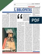 Nosotros, bibliópatas | Omar Suri (Oja x Oja 2013-11-04)