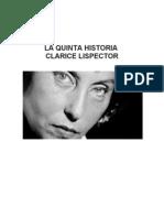 La Quinta Historia Clarice Lispector