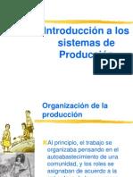 1.1. Introduccion a Los Sistemas de Produccion