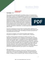 PAUL WALDER - EL DILEMA DE LOS MOVIMIENTOS SOCIALES a organizar la desorganización