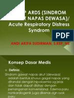 ASKEP ARDS (SINDROM GAWAT NAPAS DEWASA).pptx