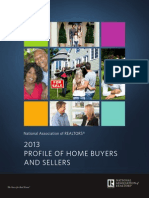 Highlights From the 2013 Profile of Home Buyers and Sellers