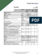 Intertek Food Services Preisliste (Honig, Oktober 2013)