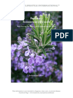 Rosemary Information Sheet