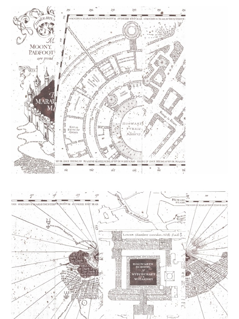 graphic relating to Printable Marauders Map referred to as Greatest 12 Marauders Map Obtain Pdf - Beautiful Very little