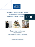 Womens Reproductive Health