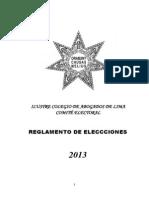 Reglamento_elecciones_2013 -Dr. Julián Palacín Fernández