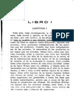 Ética a Nicómaco Libro I - Capítulo I, II, III, VI y X