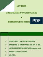 Ley Ordenamiento Territorial Desarrollo Sostenible