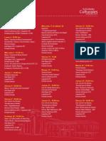 Programacion Actividades Culturales Noviembre 2013 - Ucsc