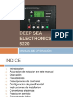 Deep Sea Electronics Plc 5220