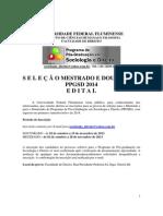 Sociologia e Direito Edital 2014