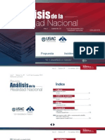 Revista Análisis de la Realidad Nacional No. 39. Actualizada.