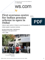 First overseas centre for Indian pension scheme to open in Dubai _ GulfNews.pdf