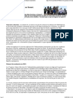 Bolivie _ les prisons se lèvent - Non Fides - Base de données anarchistes