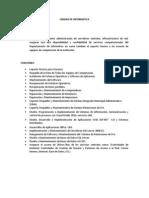 Objetivo y Funciones Del Departamento de Informatica