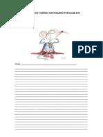 Observe a Gravura e Escreva Um Pequeno Texto