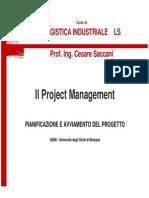 Modulo 1- 2 Il Project Management- Pianificazione e Avviamento