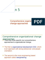 5 Comprehensive Organ't Change Approaches