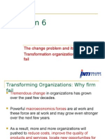 6 the Change Problem & Its Solutions