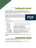 Participación Vecinal