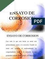 Ensayo de Corrosion