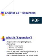 chapter 18  expansion