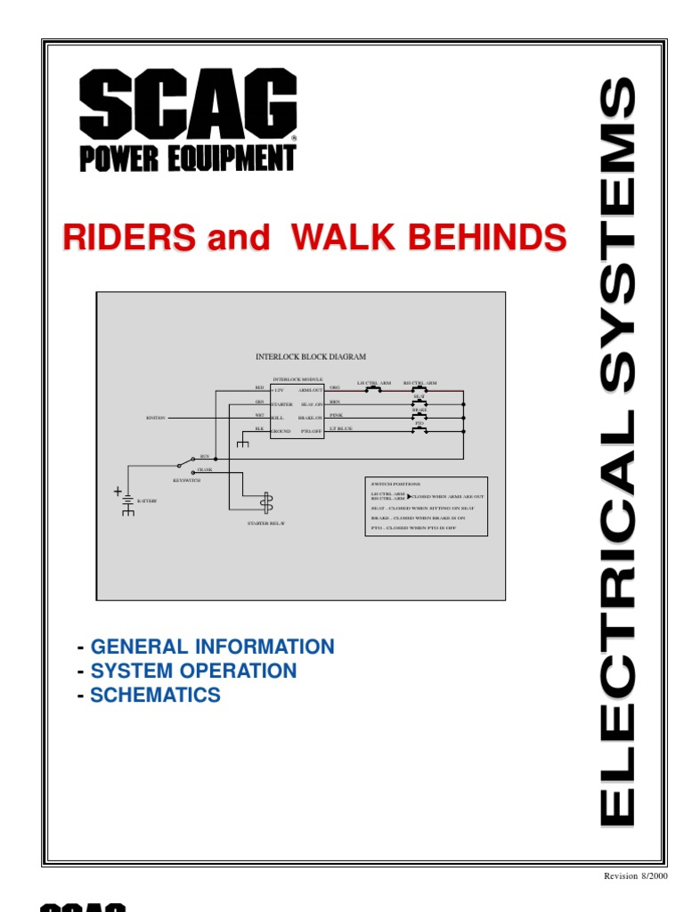 scag electrical electrical conductor electric current rh scribd com Kawasaki Scag Turf Tiger Wiring-Diagram scag turf tiger electrical diagram