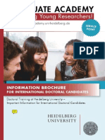 PhD information brochure for Heidelberg, .pdf