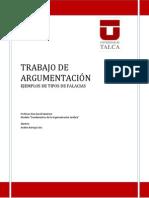 TRABAJO DE ARGUMENTACIÓN