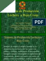 Sistema de Producción Lechera  a Bajo Costo