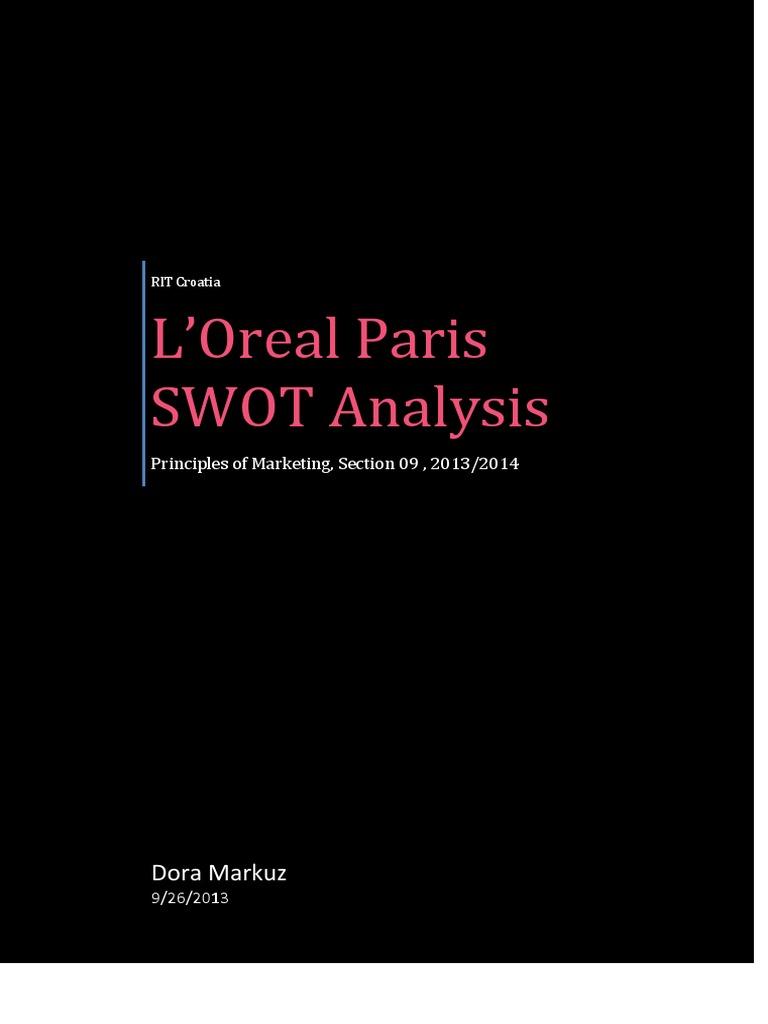 lancome swot analysis
