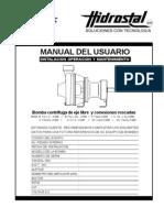 Manual Usuario Bomba Centrif Manual -Hidrostal