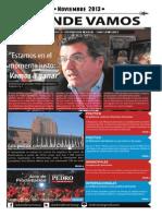 """Mensuario """"A Donde Vamos"""" - Noviembre 2013 - N° 35"""