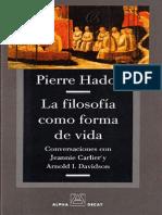!!! HADOT - La Filosofia Como Forma de Vida (OCR)