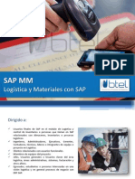SAP MM - Logística y Materiales