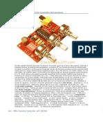 1 Hz - 2 MHz XR2206 Kit Generador de Funciones