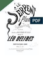 Delibes-le serpent.pdf