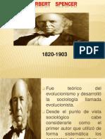 Herbert Spencer Sociologia
