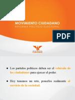 Presentación Reforma Político-Electoral