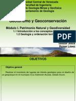 Clase I. GyG - Conceptos básicos y Geología y Ordenación Territorial.