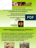 Clase IV - Geoparques