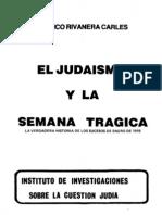 El Judaismo y La Semana Tragica