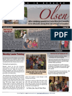 Olsen Newsletter October 2012