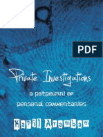 Private Investigations – Kapil Arambam