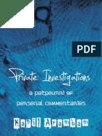 Private Investigations – Kapil Arambam