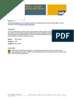SAP Business Objects - Sample Universe on Microsoft SQL Server (1)